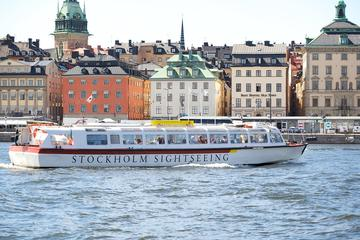 Stockholm City Hop-on Hop-off Boat Tour