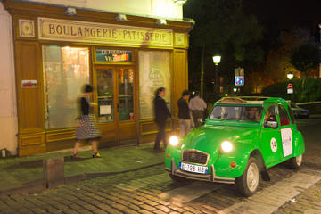 Private Tour: Vintage 2CV Round-Trip Transfer to the Lido de Paris