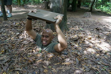 Cu Chi Tunnels Small Group Adventure Tour from Ho Chi Minh City