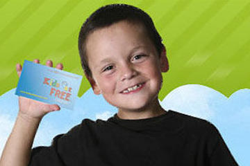 Orlando Kids Eat Free Card