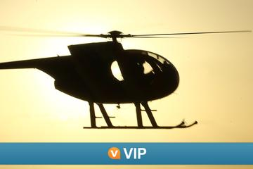 Viator VIP: Sunset Champagne Helicopter Tour from Kona