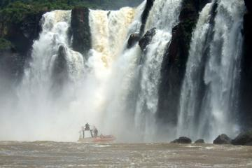 Iguassu Falls Day Tour from Puerto Iguazú with Waterfall Boat Ride