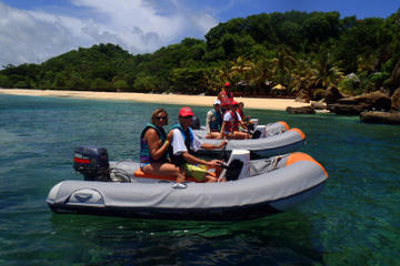 Self-Drive Boat Tour with Snorkeling from St George's