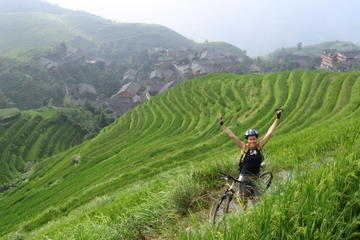 Biking Long Ji Terraces