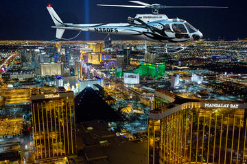 Deluxe Las Vegas Helicopter Night Flight With VIP Transportation  Las Vegas