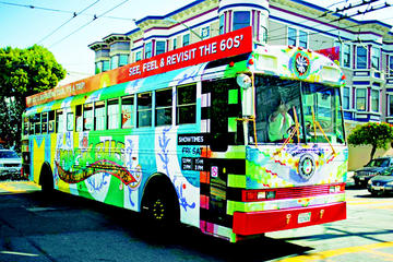 Rock 'n' Roll Combo: Alcatraz and Magic Bus San Francisco Tour