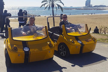 Barcelona GPS-Guided GoCar Tour