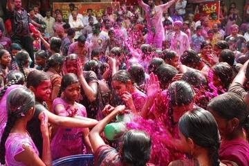 Viator Exclusive: 2-Day Holi Festival Experience in Mathura from Delhi