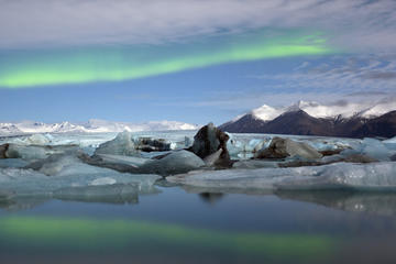 2-Day Northern Lights Adventure Tour Including Glacier Walking, Hiking and Underground Caves