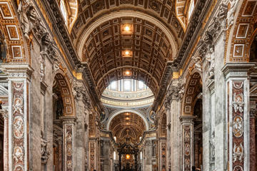 Skip the Line: St Peter's Basilica Walking Tour Including Vatican Mosaic Studio