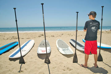 Stand-Up Paddleboard Lesson in Santa Barbara