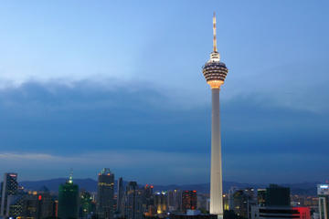 Private Tour: KL Tower Revolving Restaurant Buffet Dinner and Central Market Night Tour
