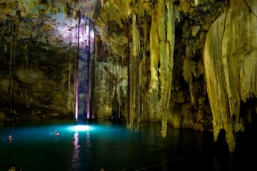 Acanceh Ruins and Cuzama Cenotes Tour from Merida