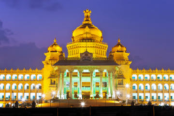 Private Tour: Bangalore City Tour Including Bangalore Palace and Vidhana Soudha
