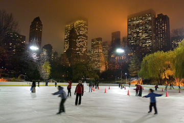 Central Park Ice Skating at Wollman Rink