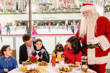 Picture of Breakfast with Santa-Ice Skating at Rockefeller Center