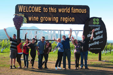 Small-Group Wine-Tasting Tour through Napa or Sonoma Wine Country