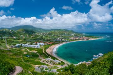 St Kitts Sightseeing Tour Including Clay Villa, Romney House and Timothy Hill