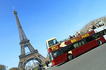Big Bus Paris Hop-On Hop-Off Tour