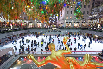 Picture of VIP: Rockefeller Center Late-Night Ice Skating & Holiday Lights Bus Tour