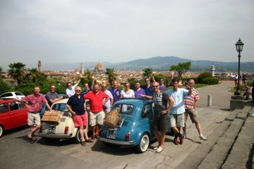 Self-Drive Vintage Fiat 500 Tour from Florence: Tuscan Villa and Picnic Lunch