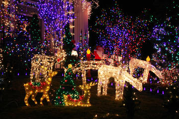 Book Christmas Lights Walking Tour of Dyker Heights Brooklyn Now!