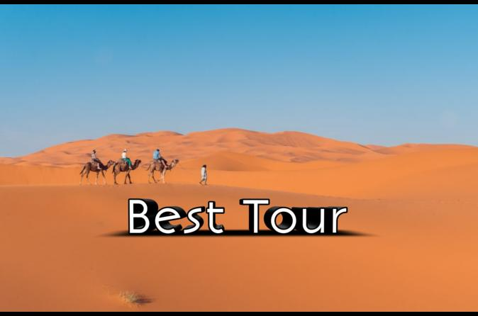 3-Day Desert Tour: from Marrakech to Fes: