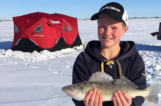 Guided Ice Fishing Tour