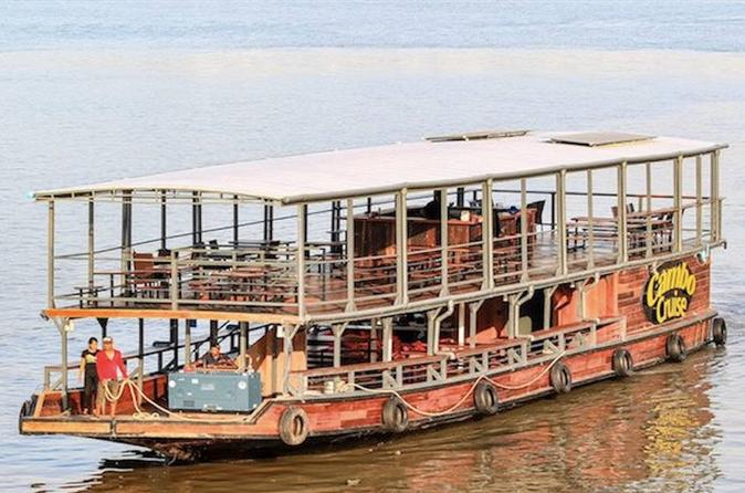Sunset Cruise with Optional Buffet Dinner from Phnom Penh