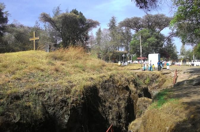Cultural Day Tour from Addis Ababa to the rock cut church of Adadi Mariam