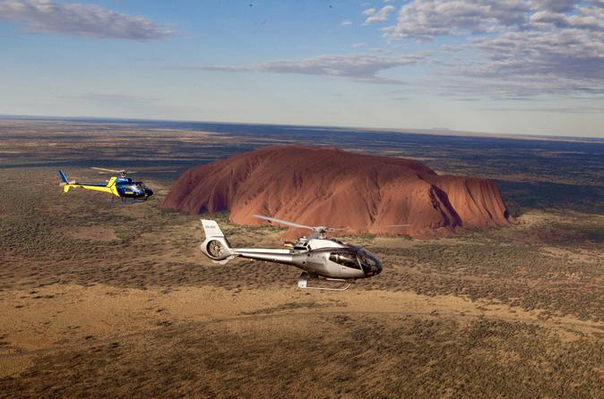 25-Minute Uluru and Kata Tjuta Helicopter Flight