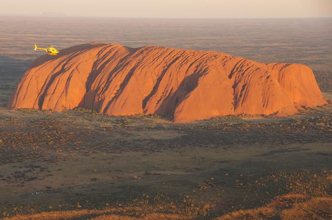 Uluru Resort Postcard Flight
