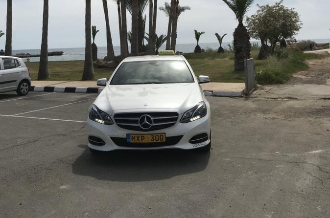 Larnaca Airport Private Transfers to Ayia Napa 1-4 passengers