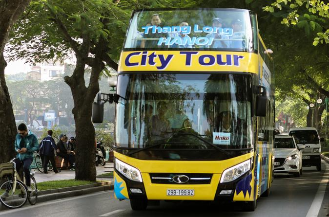 Vietnam Sightseeing Ha Noi City Tour with HOP-ON HOP-OFF style 4-hour valid