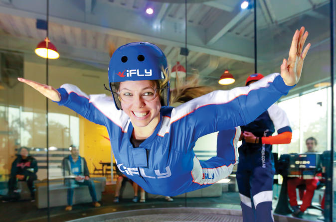 Oklahoma City Indoor Skydiving Experience