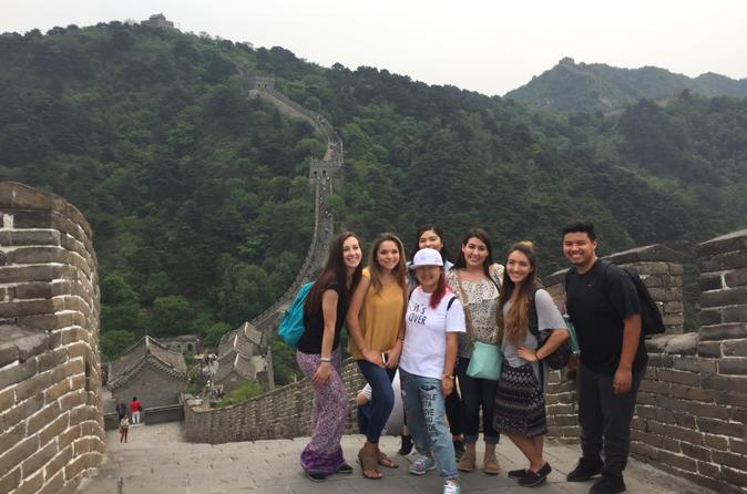 Small Group Mutianyu Great Wall and Ming Tombs Tour with Lunch