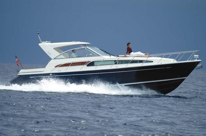 43' Chris Craft Rental with Captain and Mate