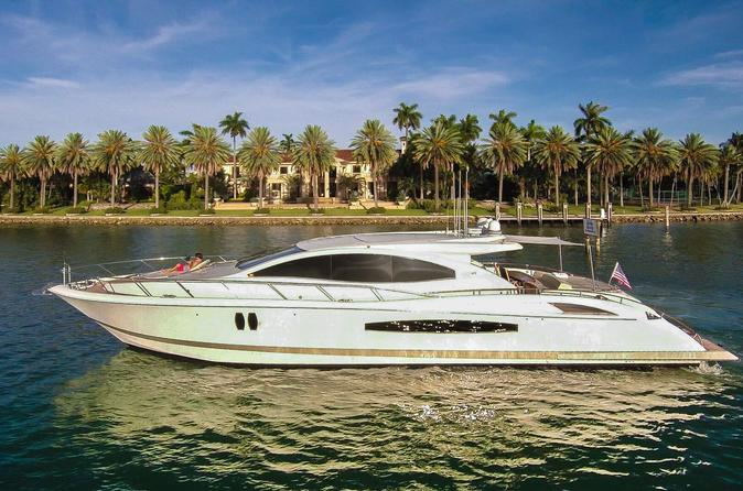 75' Lazzara LSX Charter with Captain and Mate