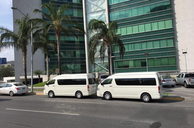Monterrey Transfers Tour Casinos 7-10 pax Toyota Van 12 hrs