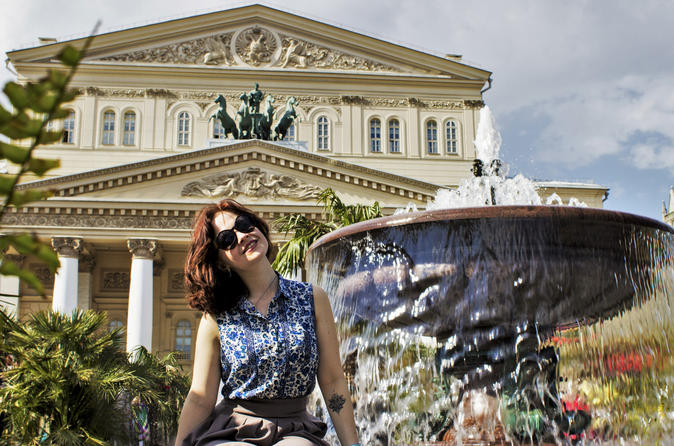 Private Moscow Red Square and City Tour with Bolshoi Visit Option