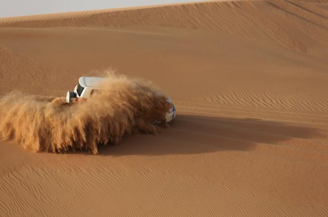 Abu Dhabi Overnight Desert Camping -Arabian Nights with BBQ & Belly Dance & More