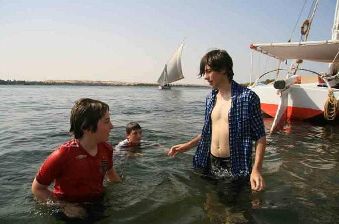 From Aswan enjoy a Full day Felucca sailing from the morning till sunset