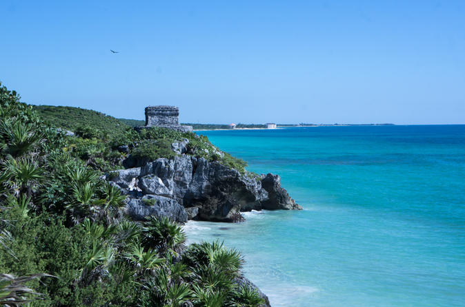 Exclusive Private Tour to Tulum with swim with turtles and cenote