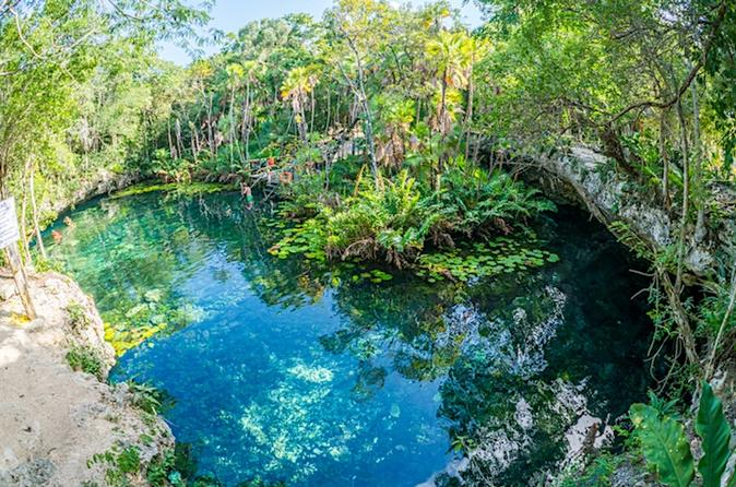 Private Snorkeling Tour in 2 Cenotes with Mayan lunch