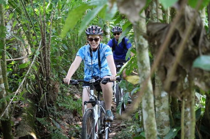 Bali Combination Rafting and Bamboo Forest Cycling