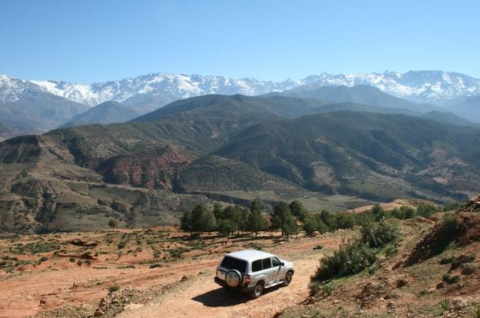 Private 4x4 High Atlas Adventure day trip from Marrakech