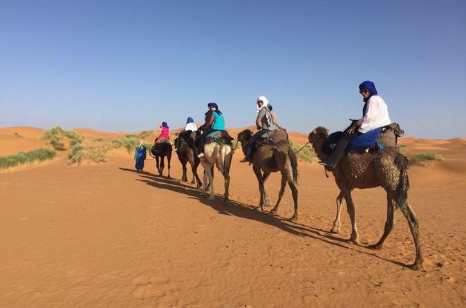 Private Tour 3 Days from Marrakech to Fes Via Merzouga Desert