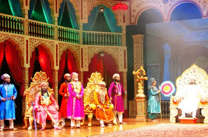 An Evening with Agra's Mohabbat The Taj Show including Dinner