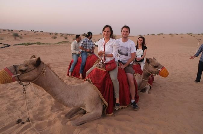 Jaisalmer Sunset Camel Ride with Dinner and Private Transfers