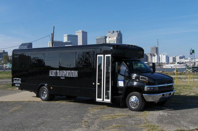 LimoBus New Orleans Airport or Hotel Transfer